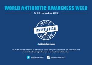 Semana Sensibilización sobre los Antibióticos