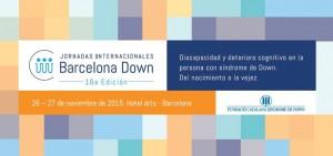 XVI Jornadas Internacionales Barcelona Down