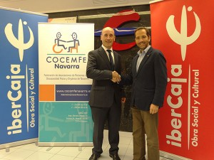 convenio COCEMFE Navarra-Ibercaja