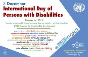 Día Internacional de las Personas con Discapacidad 2015
