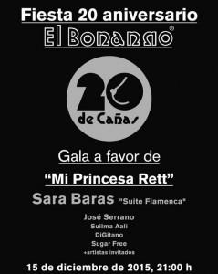 Gala solidaria El Bonnano Mi Princesa Rett