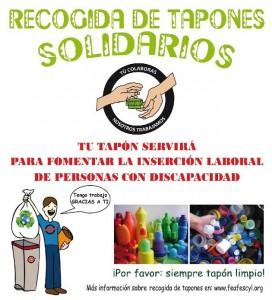 Tapones Solidarios FEAFES Ávila