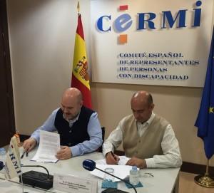 convenio CERMI-Plataforma de Organizaciones de Pacientes