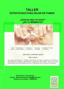 taller tabaquismo ACCU Valencia