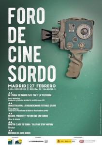 'Foro de Cine Sordo' CNSE