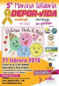 V Marcha Solidaria 'DEPOR-VIDA'