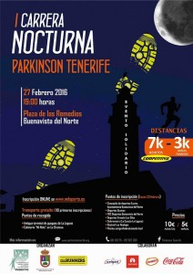 carrera nocturna Parkinson Tenerife