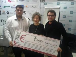 donación AECC Ourense