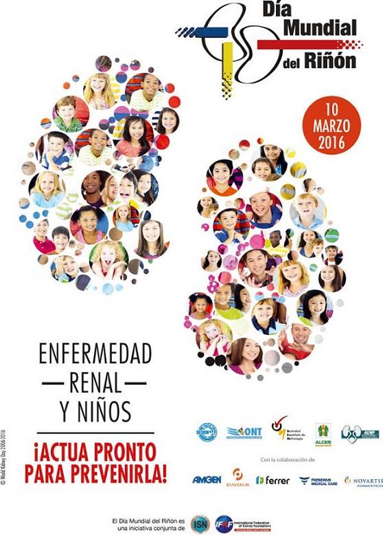 Enfermedad renal y niños\' este jueves en el Día Mundial del Riñón