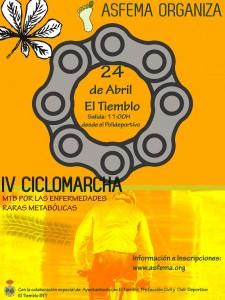 IV ciclomarcha ASFEMA
