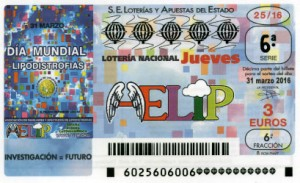 Lotería Nacional Lipodistrofias 2016