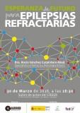Conferencia 'Esperanza de futuro para epilepsias refractarias' de AEREI