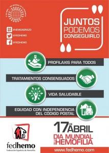 Día Mundial de la Hemofilia 2016
