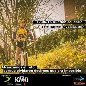 Duatlón Solidario Down Madrid-Triatlón KM0