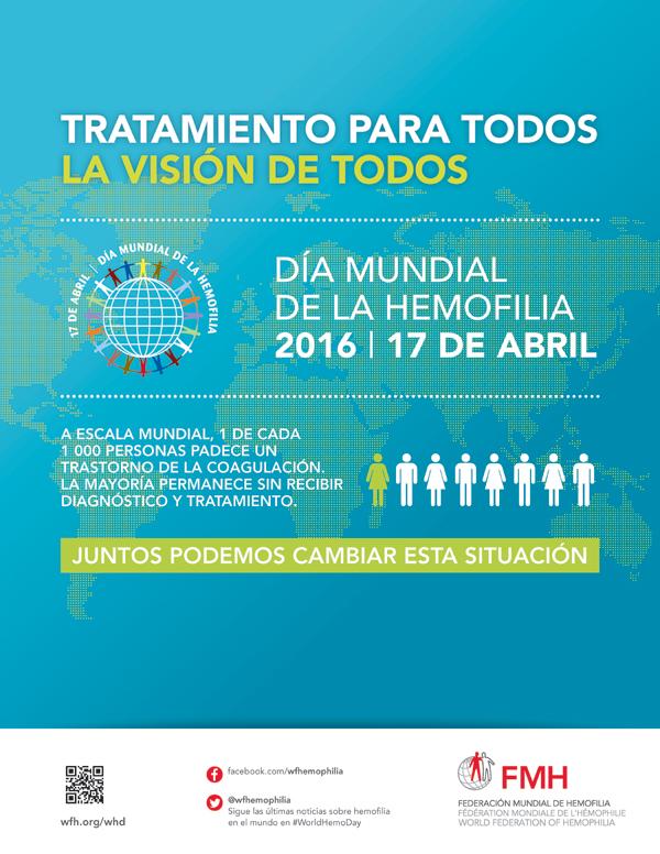 Juntos podemos conseguirlo en el d a mundial de la hemofilia for Noticias dela farandula internacional 2016