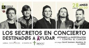 concierto Los Secretos-AECC