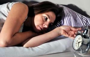 mujer e insomnio