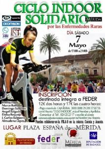 ciclo indoor solidario FEDER Extremadura