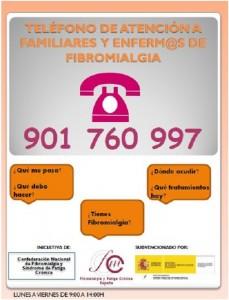 teléfono atención fibromialgia