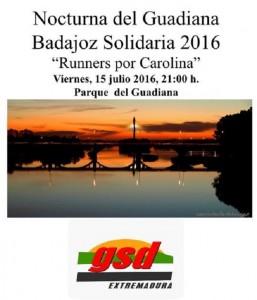 Carrera Nocturna del Guadiana 2016