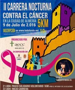 carrera nocturna AECC Almería