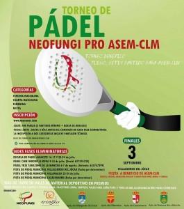 torneo pádel ASEM CLM
