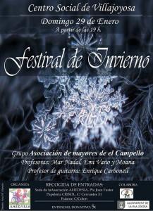 Festival Benéfico de Invierno-AHEDYSIA
