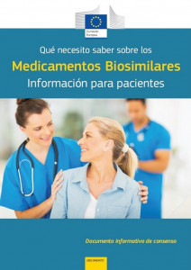 guía medicamentos biosimilares CE