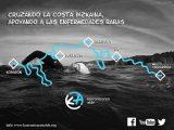 Cruzar a nado la costa vizcaína para la visibilización e investigación de las ER