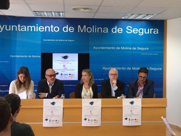 Presentación de la VI Jornada Retina Murcia en Molina de Segura.