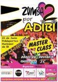 MasterClass de zumba solidaria a favor de ADIBI, mañana viernes en Ibi