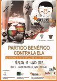 Partido benéfico de fútbol contra la ELA, mañana sábado en Oeiras (Portugal)