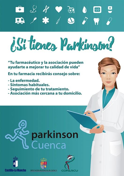 Campaña  ¿Si tienes Parkinson   de Asociación Parkinson Cuenca a9a7898f68b