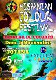 'Hispanian Colour Festival' en Totana a beneficio de D'genes y AELIP