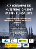 XIX Jornadas de Investigación FARPE-FUNDALUCE, el viernes en Barcelona