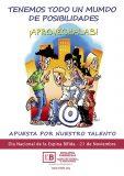 'Apuesta por nuestro talento' en el Día Nacional de la Espina Bífida