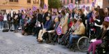 Éxito de participación en las concentraciones para reclamar la accesibilidad universal