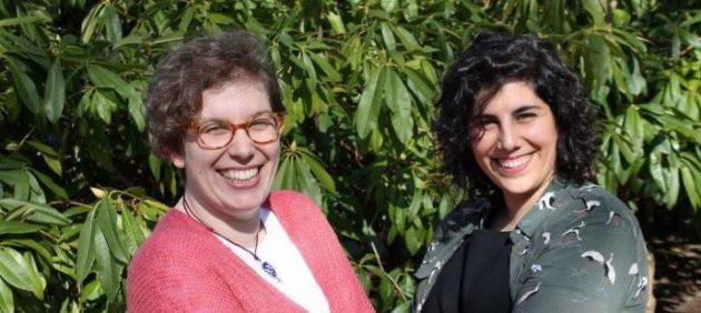 Hadriana Ordóñez y Cristina Santos (derecha), las responsables de este servicio.