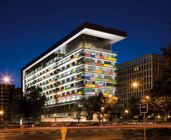 Sede central del Instituto Nacional de Estadística.