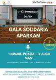 I Gala Solidaria 'Humor, Poesía y Algo Más' de APARKAM