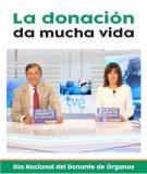 'La donación da mucha vida' en el Día Nacional del Donante de Órganos