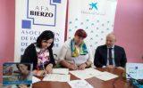 Fundación Bancaria 'la Caixa' dona 24.000 euros a AFA Bierzo