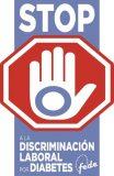 Recogida de firmas de FEDE frente a la discriminación laboral por diabetes