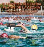 Travesía a nado solidaria a beneficio de D'genes y Fundación Tiovivo