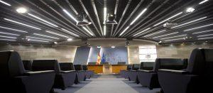 Sala de Prensa del Consejo de Ministros.