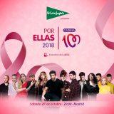 Sexto concierto solidario 'Por ellas' a favor de la AECC, el sábado en Madrid
