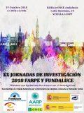 XX Jornadas de Investigación FARPE-FUNDALUCE, el viernes en Sevilla