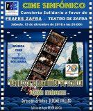 Concierto solidario 'Cine Sinfónico' a beneficio de FEAFES Salud Mental Zafra