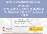 Inscríbete en el XII Congreso Nacional de Miastenia, el 23 de febrero en Burgos