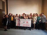 Mujeres taxistas recaudan 62.000 euros para la investigación del cáncer infantil